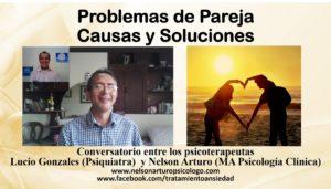 Problemas de pareja. Causas y Soluciones